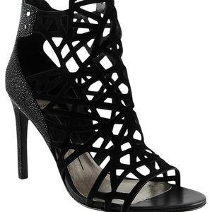 Dolce Vita Suede Cutouts Sandals